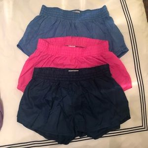 3 Pairs of Soffe Women's Shorts | Size: Small